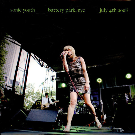 Sonic Youth - Battery Park, NYC July 4th 2008