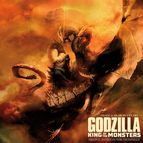 Bear McCreary - OST Godzilla: King Of The Monsters Colored Vinyl Edition
