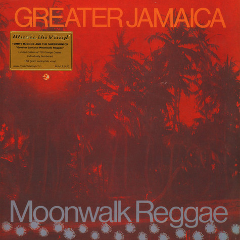 Tommy McCook - Greater Jamaica Moon Walk Reggae Colored Vinyl Edition