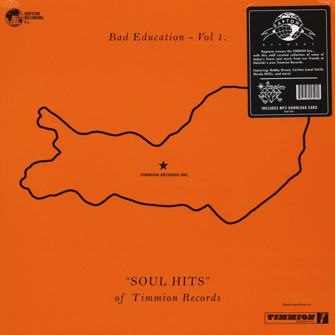 V.A. - Bad Education Volume 1 - Soul Hits Of Timmion Records