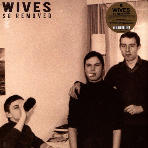 Wives - So Removed Purple Vinyl Edition