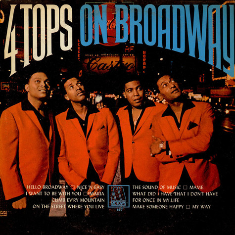 Four Tops - Four Tops On Broadway