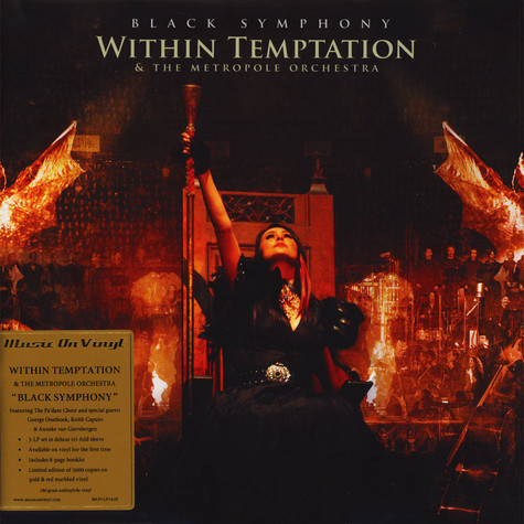 Within Temptation - Black Symphony Coloured Vinyl Edition