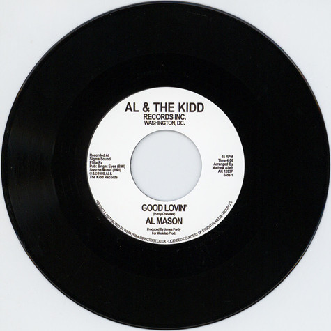 Al Mason - Good Lovin' / We Still Could Be Together