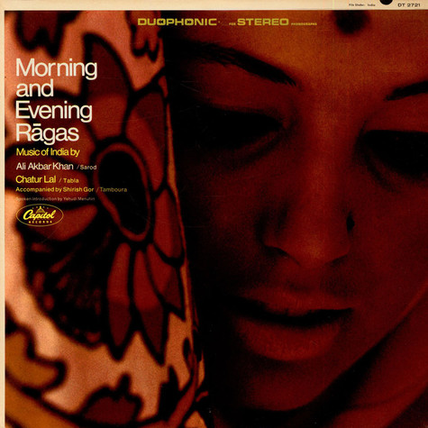Ali Akbar Khan - Music Of India, Morning And Evening Ragas