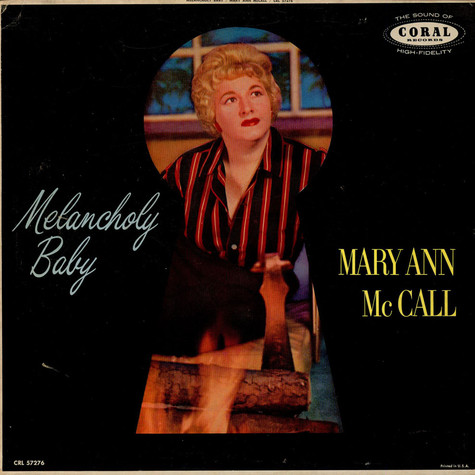 Mary Ann McCall - Melancholy Baby