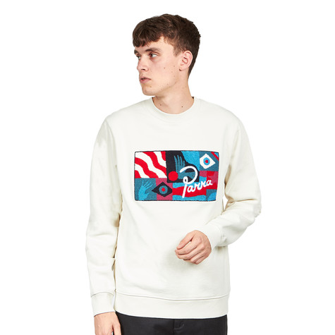 Parra - Grab the Flag Crew Neck Sweater