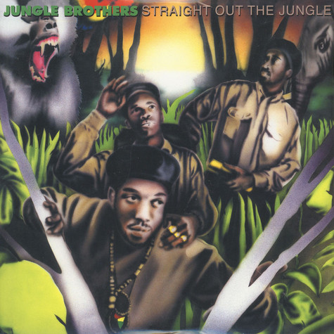 Jungle Brothers - Straight Out The Jungle Red & Green Opaque Vinyl Edition