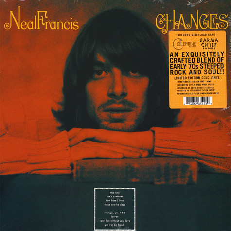 Neal Francis - Changes Gold Vinyl Edition