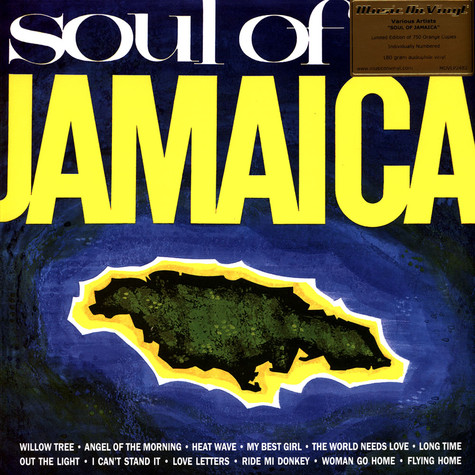 V.A. - Soul Of Jamaica Coloured Vinyl Edition