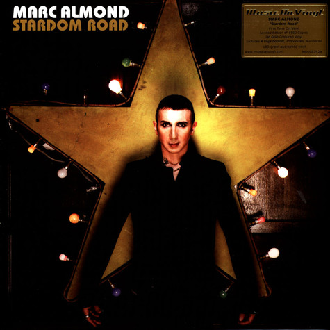 Marc Almond - Stardom Road Limited Numbered Gold Vinyl Edition