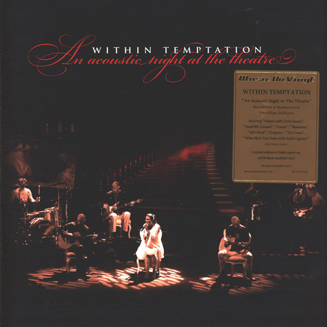 Within Temptation - An Acoustic Night At The Theatre Coloured Vinyl Edition