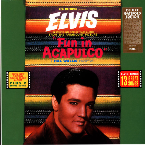 Elvis Presley - Fun In Acapulco Gatefold Sleeve Edition