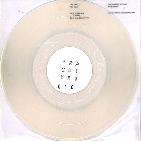 Chevel - Unlimited Drinks Byetone Remix Clear Vinyl Edition