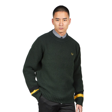 Fred Perry - Bold Tipped Crew Neck Jumper