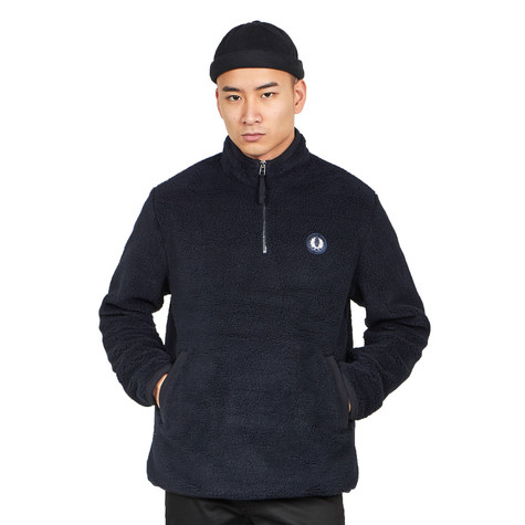 Fred Perry - Borg Half Zip Fleece Jacket