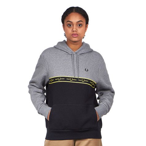 Fred Perry - Taped Hooded Sweatshirt