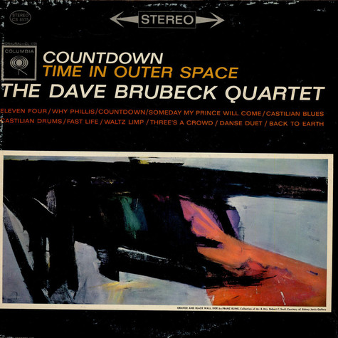 Dave Brubeck Quartet, The - Countdown: Time In Outer Space