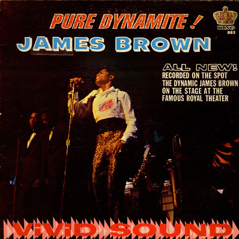 James Brown - Pure Dynamite! (Live At The Royal)