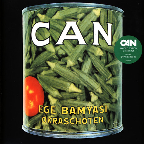 Can - Ege Bamyasi Green Vinyl Edition