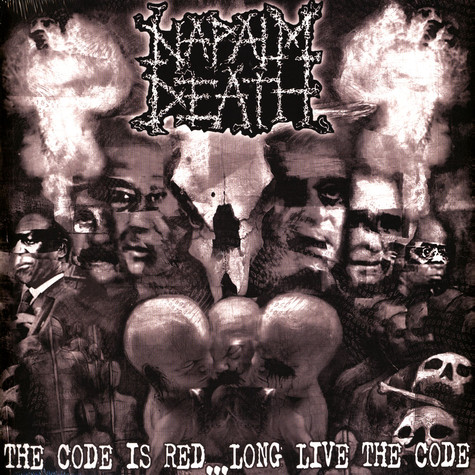 Napalm Death - The Code Is Red - Long Live The Code Clear Vinyl Edition