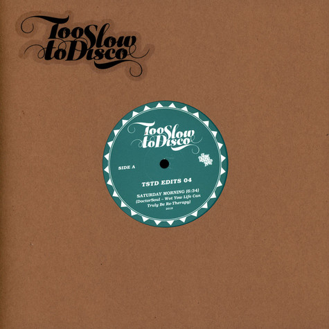 Doctor Soul - Too Slow To Disco Edits 04