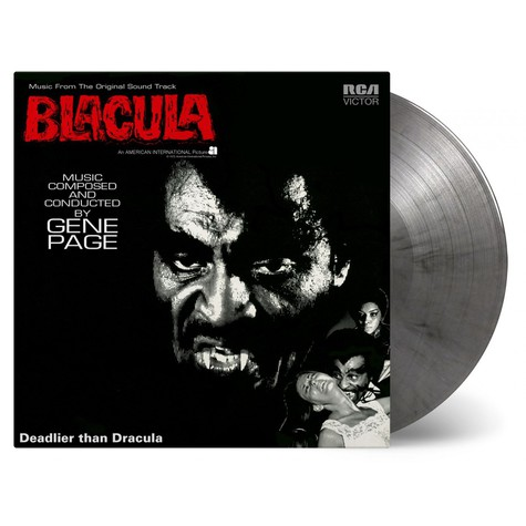 Gene Page - OST Blacula Colored Vinyl Edition