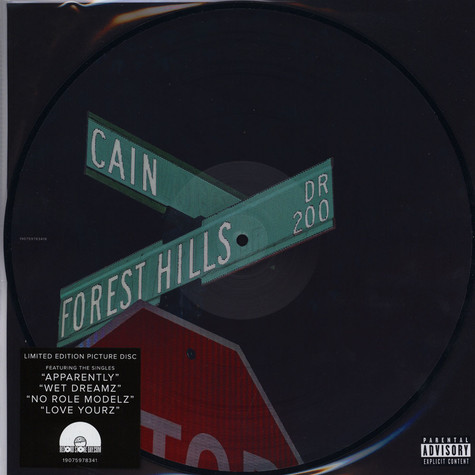 J. Cole - 2014 Forest Hills Drive Ep Picture Disc Black Friday Record Store Day 2019 Edition