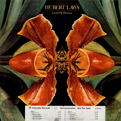 Hubert Laws - Land Of Passion