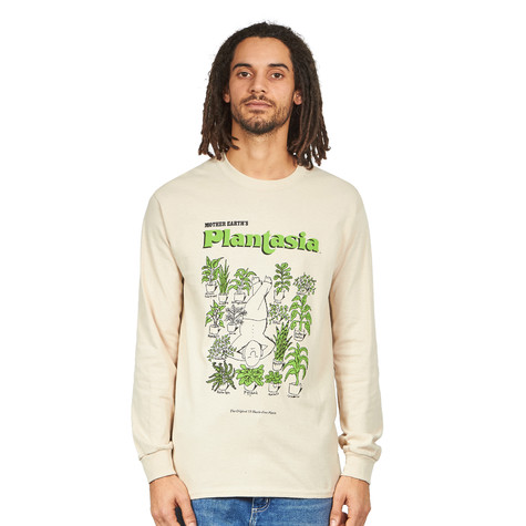 "Mort Garson - Plantasia ""Man With His Plants"" Longsleeve"
