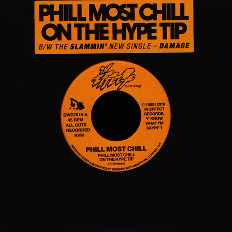 Phill Most Chill - On The Hype Tip / Damage