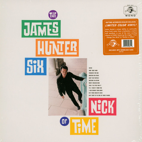James Hunter Six, The - Nick Of Time Colored Vinyl Edition