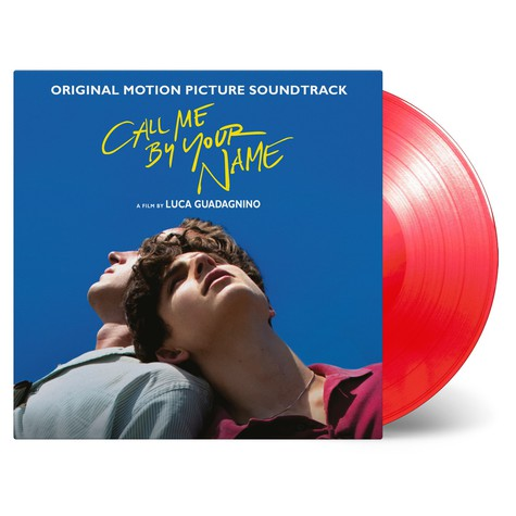 V.A. - OST Call Me By Your Name Transparent Red Vinyl Edition