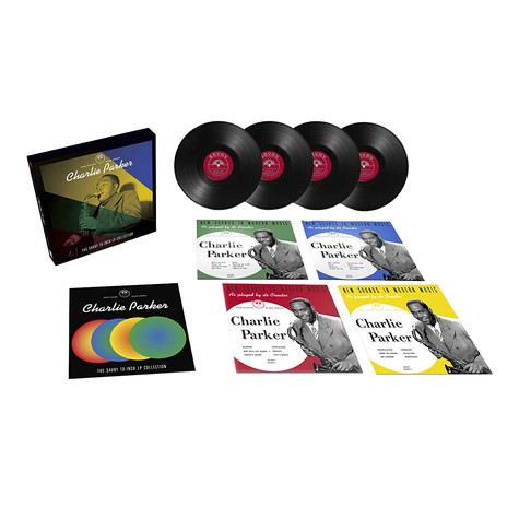 Charlie Parker - The Savoy 10 LP Collection Box Set