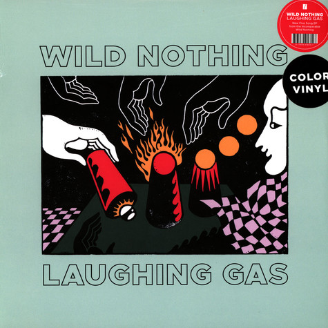 Wild Nothing - Laughing Gas EP Milky Clear Vinyl Edition