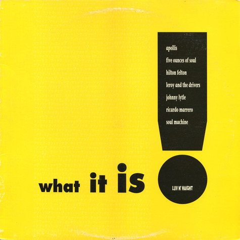V.A. - What It Is!