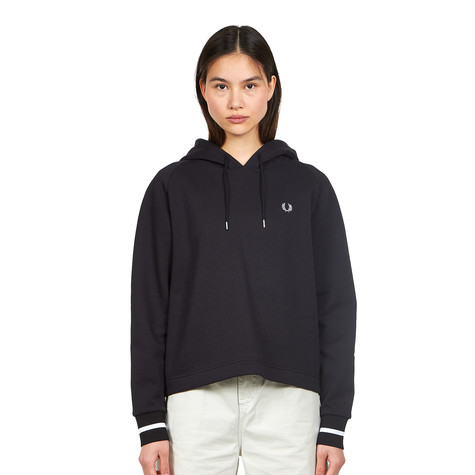 Fred Perry - Branded Hooded Sweatshirt