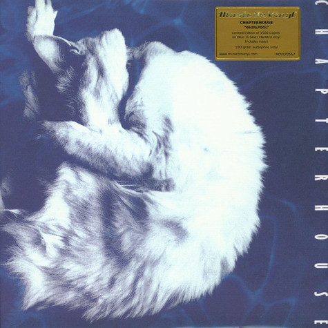 Chapterhouse - Whirlpool Limited Numbered Blue & Silver Marbled Vinyl Edition