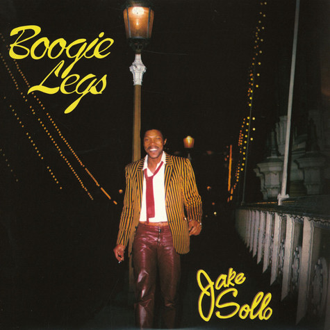 Jake Sollo - Boogie Legs Clear Vinyl Edition