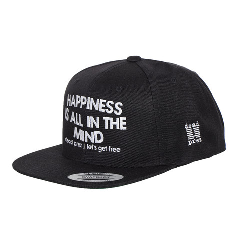 """Dead Prez - """"Happiness Is All In The Mind"""" Snapback Hat"""