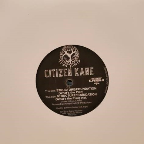 Citizen Kane - Structure/ Foundation (What's The Plan?) / Instrumental