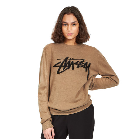 Stüssy - Brushed Out Logo Sweater
