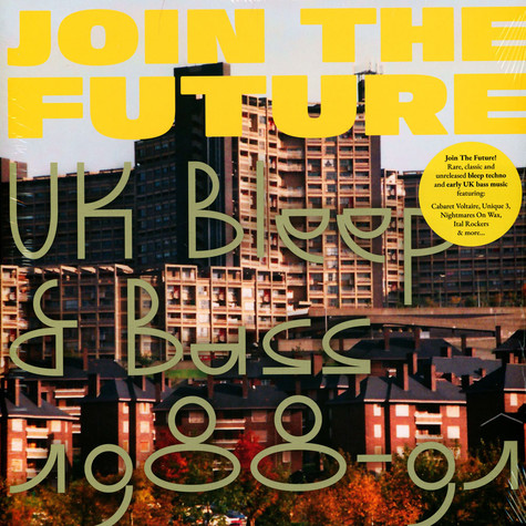 V.A. - Join The Future - UK Bleep & Bass 1988-91
