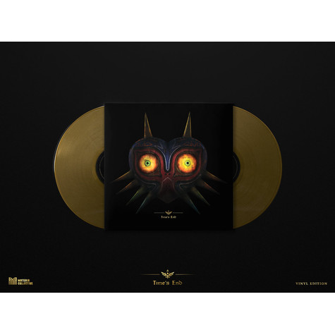 Theophany - Time's End: Majora's Mask Remixed Gold Vinyl Edition