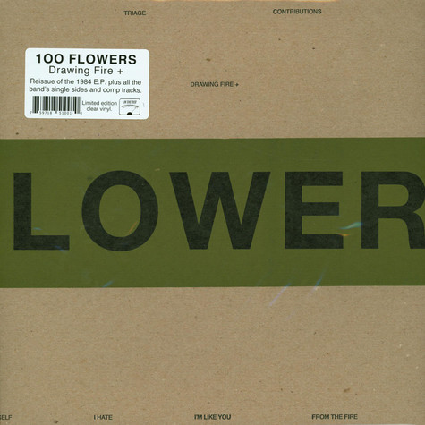 100 Flowers - Drawing Fire Expanded Record Store Day 2020 Edition