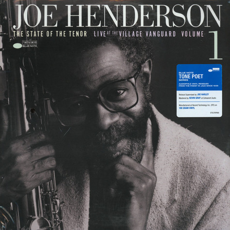 Joe Henderson - State Of The Tenor Volume 1 Tone Poet Edition