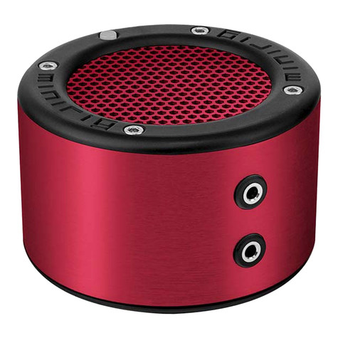 minirig - MRBT-Mini 2 Bluetooth Speaker RED