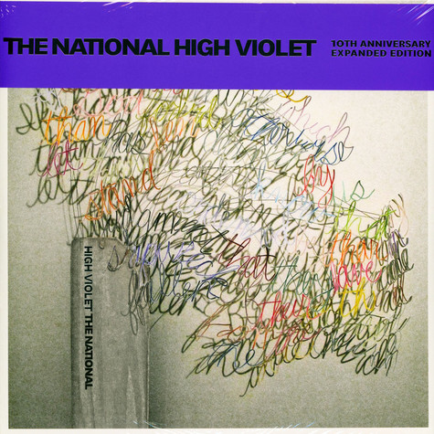 National, The - High Violet Expanded White & Purple Marbled Vinyl Edition