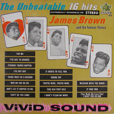 James Brown & The Famous Flames - The Unbeatable - 16 Hits
