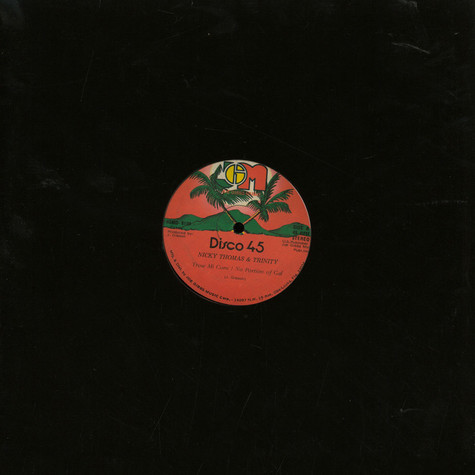 Nicky Thomas & Trinity / Joe Gibbs & The Professionals - Throw Mi Corn / No Portion Of Gal / It Down Your Belly